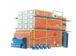 SHL双锅筒横置式蒸汽、热水锅炉